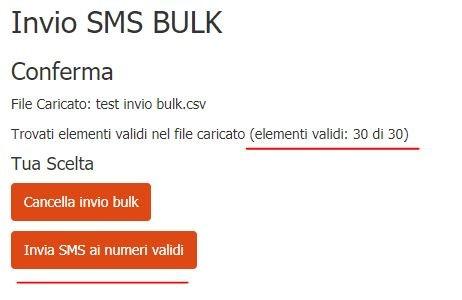 test-invio-sms-bulk2 Guida all'invio degli SMS in formato BULK con file CSV